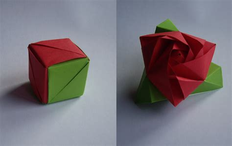 Origami Magic Cube - magic cube by neferush on deviantart