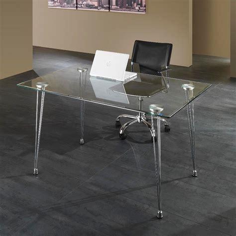 scrivania di design scrivania da ufficio kaleva design in metallo e vetro 130
