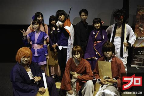 film action indonesia yang akan datang suasana penayangan perdana quot rurouni kenshin kyoto taika