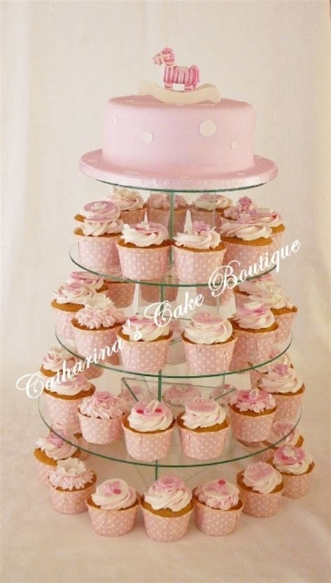 Tower For Baby Shower by Baby Shower Cupcake Tower Cakecentral