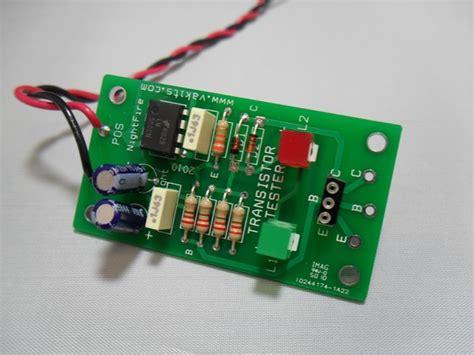 transistor testing bipolar transistor tester kit 1757 nightfire electronics llc