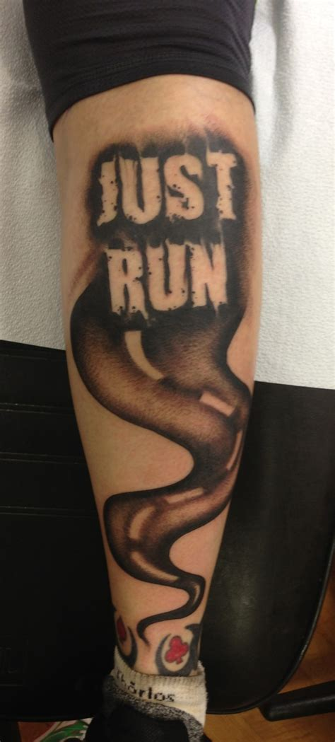 running tattoos 30 running inspired tattoos just run lah
