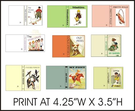 printable children s book covers pin by beth stagdon on mini books children pinterest