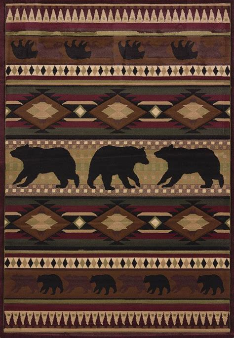 cabin decor rugs 17 best images about rustic lodge decor diy decorating tips on cabin