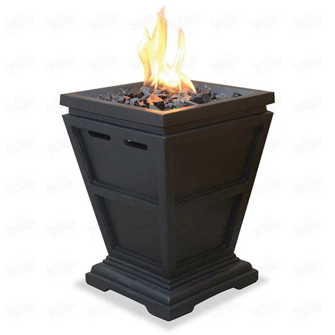 Small Outdoor Gas Pit Pit Table Top Fireplace Lp Gas Column Small Outdoor