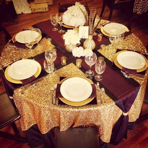 dazzle up your fall wedding with a burgundy and gold guest