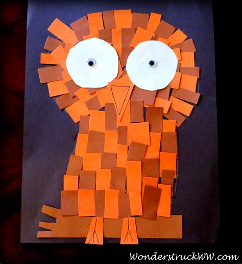 Fall Construction Paper Crafts - fall craft projects your will