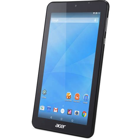 Tablet Iconia Acer acer 7 quot iconia one 7 8gb tablet wi fi black nt lbtaa 001