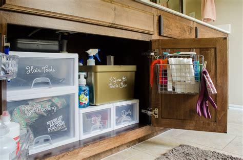 organize under the bathroom sink most popular organizing posts polished habitat