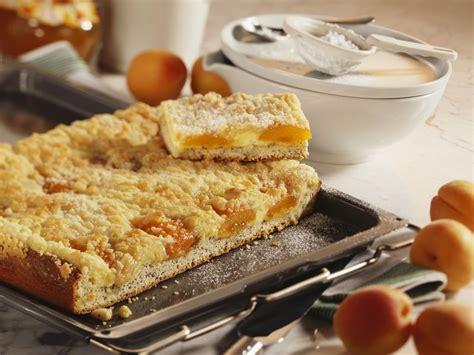 kalorienarmer kuchen mit quark quark aprikosen kuchen mit streuseln rezept eat smarter