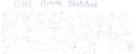 1 Minute Sketches by 38 One Minute Sketches Weasyl