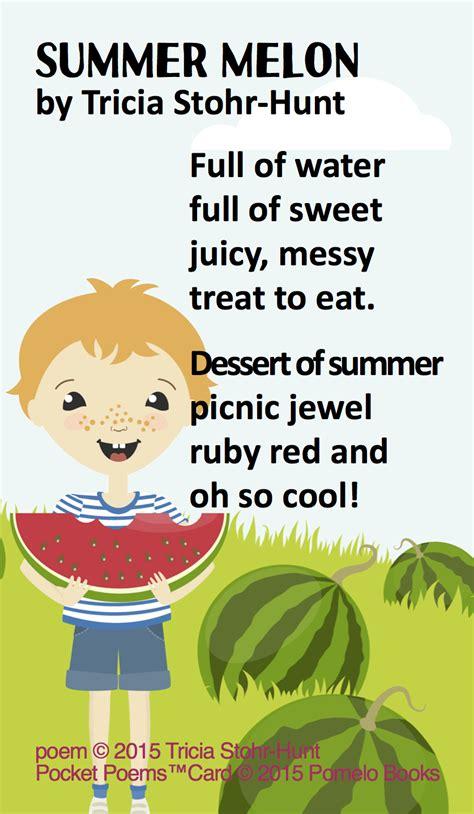child poem poetry for children poetry for summer