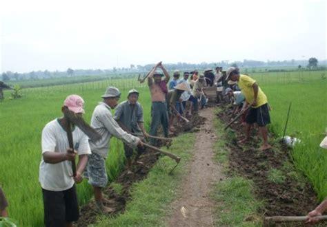 bpp gondang tulungagung jawa timur kerja bakti pelebaran jut desa notorejo