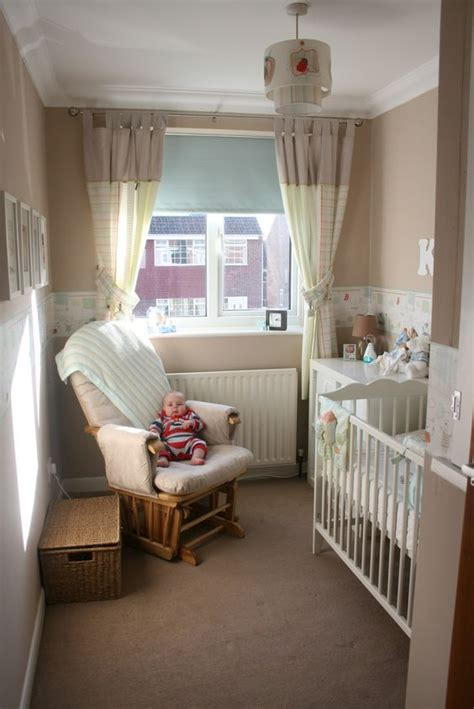Decorating Ideas For Small Baby Room Small Gender Neutral Nursery Crib Dresser Changer