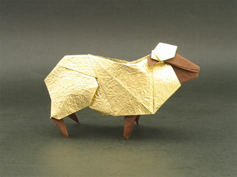 How To Make Paper Sheep - sheep hideo komatsu happy folding