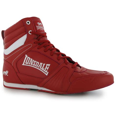 sports direct boxing shoes lonsdale tornado mens boxing boots trainers sneakers