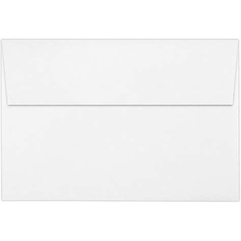 Square A8 80lb bright white a8 envelopes square flap 5 1 2 x 8