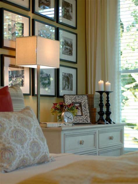 how to display photo frames 10 ways to display bedroom frames hgtv