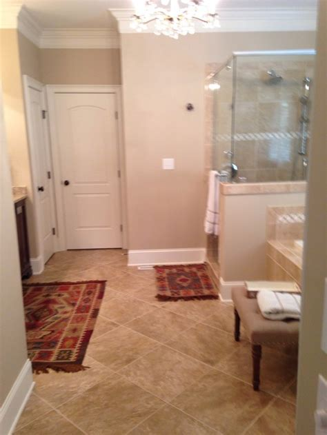 Bathroom Placement In House Master Bath Rug Size And Placement