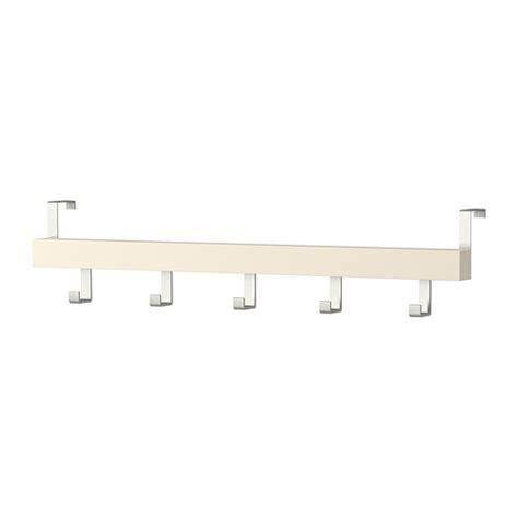 appendiabiti da porta ikea tjusig hanger for door wall white 60 cm ikea