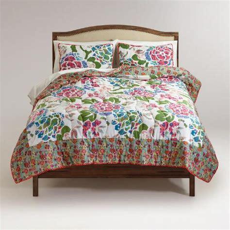 world market bedding floral lena bedding collection world market