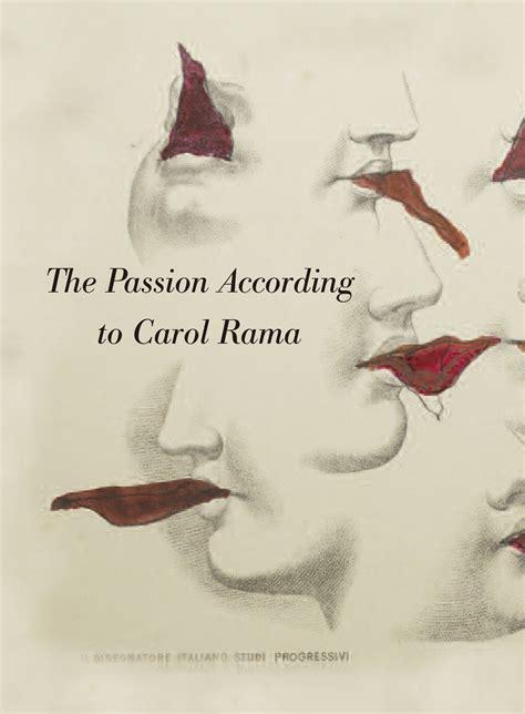 the passion according to the passion according to carol rama