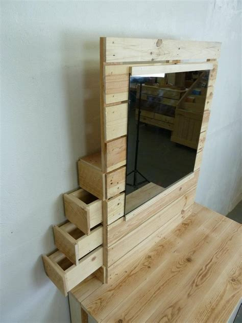 pallet dresser with side drawers pallet dresser rustic