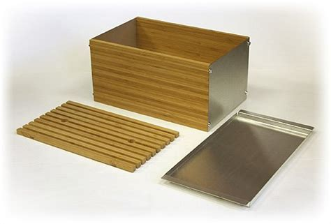 Simply Bamboo Extra Large Napa Bamboo & Brushed Stainless