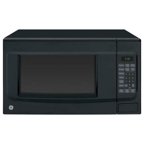 Home Depot Countertop Microwaves by Ge 1 4 Cu Ft 1100 Watt Countertop Microwave In Black