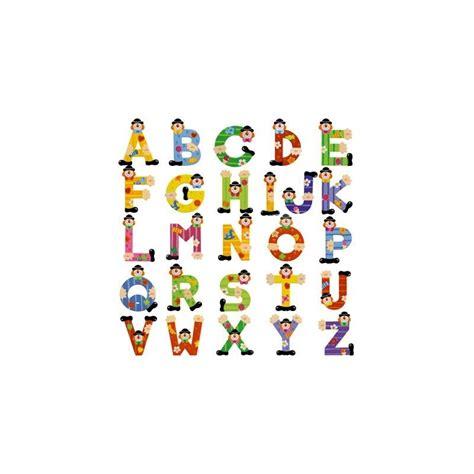 lettere sevi lettre en bois motif clown sevi