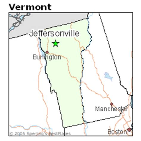best places to live in jeffersonville, vermont