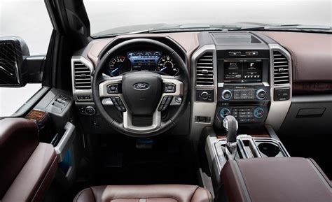 Ford F150 Interior car and driver