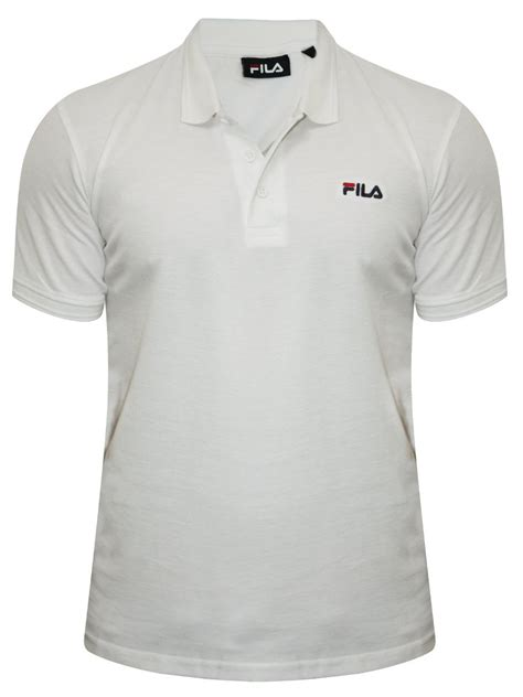 Polo Shirt Filla S M L Xl Hitam buy t shirts fila white polo t shirt 12004384 wht cilory