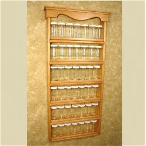 Large Wooden Spice Racks Wall Mounted Spice Rack Quot Americana Gourmet Quot Wall Mounted Spice
