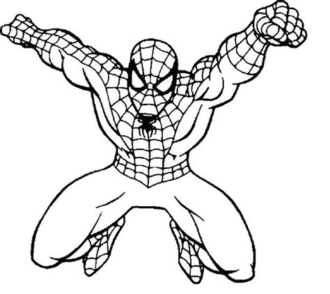 easy coloring pages of spiderman coloring pictures of spiderman coloring spider man 2099