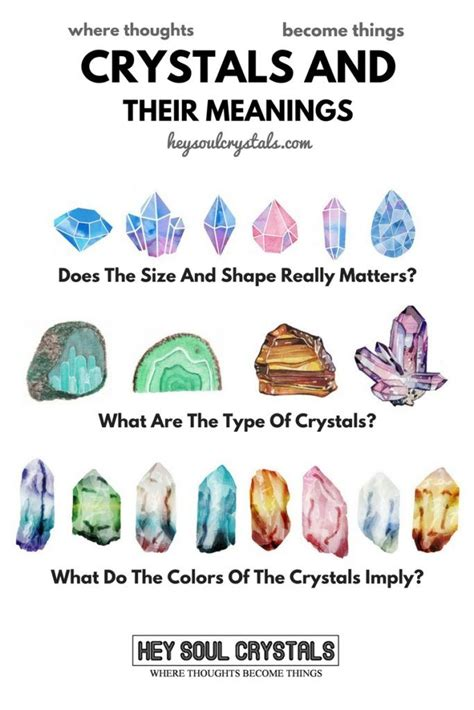 types  crystals   meanings hey soul crystals