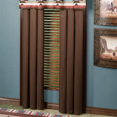 southwest curtains southwest frontier grommet window treatments