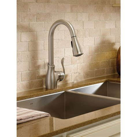 moen boutique kitchen faucet moen boutique 1 handle kitchen faucet r 233 no d 233 p 244 t