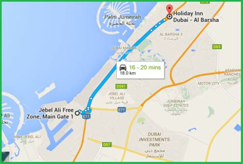 emirates zone hotels near jebel ali free zone holiday inn dubai al barsha