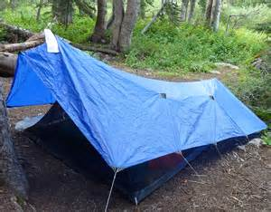 Tarp Canopies by How To Pitch A Bedroom In The Woods Backpacking Tents