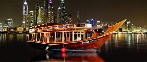 dubai marina  day dhow dinner cruise  transfer