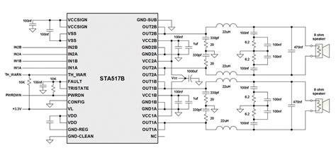 Power Lifier Class D D2k Neo class d lifier schematic circuit board layout guidelines for class d lifiers ee times