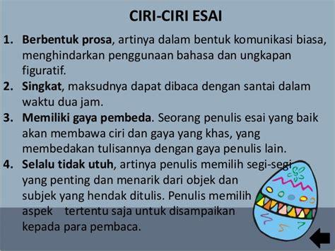 format esai bahasa indonesia materi bahasa indonesia kelas xii ips semester genap esai