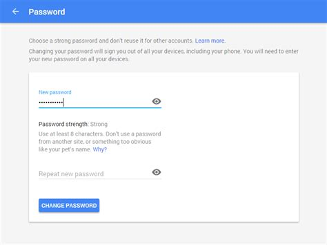 gmail reset link how to change your gmail account s password