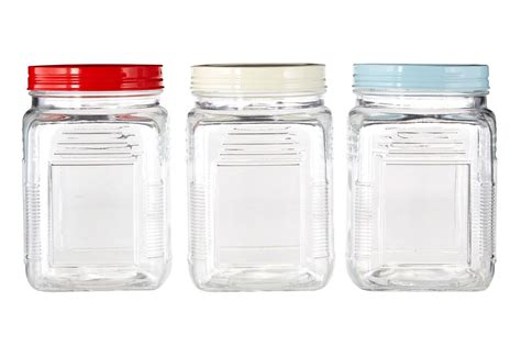 Storage Canisters For Kitchen Square Canisters Storage Glass Jar Tea Coffee Sugar