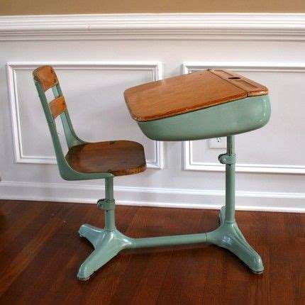 cool school desks home school is cool vintage turquoise aqua elementary