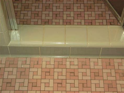 Retro Mosaic Bathroom Tiles colvin s pink unglazed porcelain ceramic bathroom floor