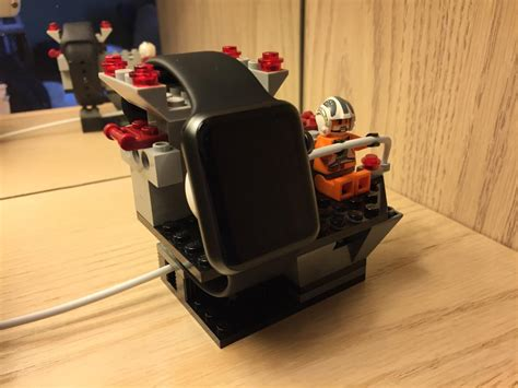 Charging Station Nightstand by Diy Apple Watch Charging Dock With Legos
