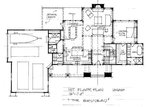the bruneau timber frame home floor plan blue ox