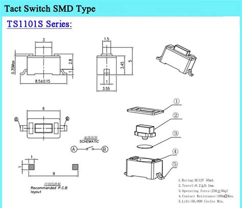 tact switch wiring diagram 2 5mm wiring diagram